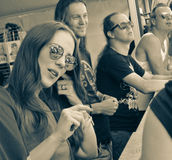 Epica-Metallband stockfoto