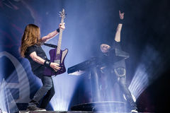 Epica in Prague 2017 Royalty Free Stock Image