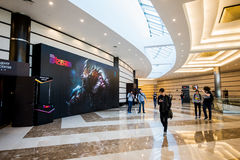 EPICENTER MOSCOW Dota 2 cybersport event may 13. Crocus city hall. Stock Image