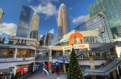 Epicentre Charlotte Stock Images