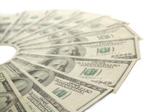 Epicentro del dinero. Asunto del asunto Imágenes de archivo libres de regalías