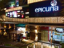 Epicuria Food Mall - New Delhi Stock Photography