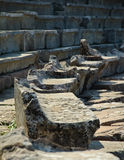 epidauros希腊就座剧院 免版税库存图片