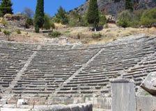 epidauros希腊mycenaean剧院 免版税库存照片