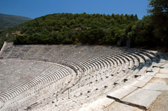 Epidauros Theater Stockfotografie