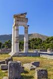epidaurus希腊 库存照片