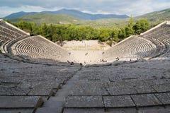 Epidaurus Amphitheater Stock Photos