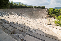 Epidaurus Amphitheater Royalty Free Stock Photo
