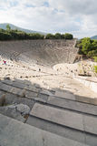Epidaurus Amphitheater Stock Image