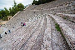 Epidaurus Amphitheater Royalty Free Stock Images