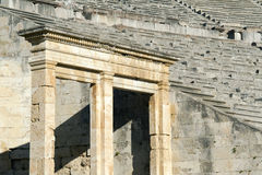 Epidaurus, ancient theater in Greece Stock Image