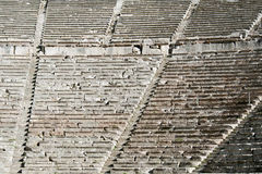Epidaurus, ancient theater in Greece Stock Photo