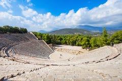Epidaurus Antyczny Theatre, Grecja fotografia stock