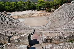 Epidaurus, Greece Stock Image