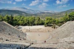 Epidaurus, Griechenland lizenzfreies stockfoto