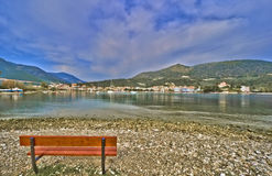 Epidaurus harbor. Harbour of Epidaurus in Greece stock photos
