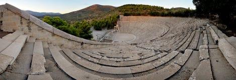 Epidaurus teater Royaltyfria Bilder