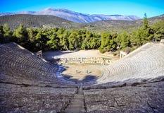 Epidaurus teater Royaltyfri Bild