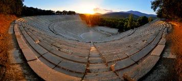 Epidaurus theater Stock Photos