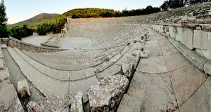Epidaurus theater Royalty Free Stock Images
