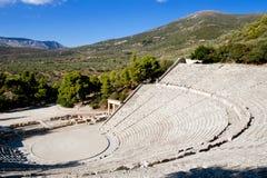 Epidaurus theater Royalty Free Stock Photography