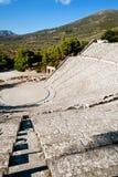 Epidaurus theater Stock Photo