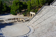 Epidaurus theater Stock Image
