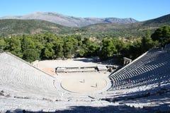 epidavros希腊peloponnese 图库摄影