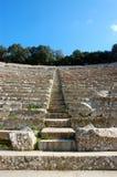 Epidavros altes Theater Lizenzfreies Stockfoto