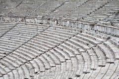 Epidavros. Epidauros ancient theater at greece Stock Photography