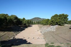 Epidavros - peloponnese - greece Royalty Free Stock Photography