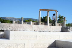 Epidavros - peloponnese - greece Royalty Free Stock Photo
