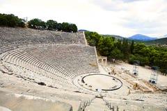 Epidavros teater Royaltyfri Fotografi