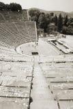 epidavros teatrze Greece zdjęcie royalty free