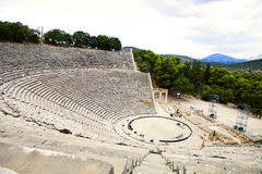 Epidavros theater Royalty Free Stock Photography
