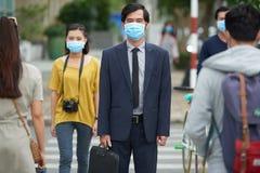 Epidemia di influenza Immagine Stock
