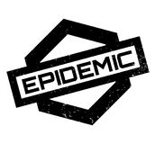 Epidemic rubber stamp Royalty Free Stock Photography