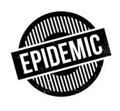 Epidemic rubber stamp Stock Image