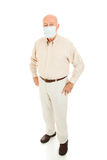 Epidemic - Senior Man Full Body Stock Photos