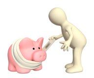 Epidemic of a swine flu Royalty Free Stock Photos