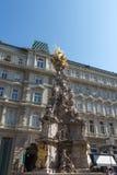 Epidemikolonn i Wien Österrike September 2017 royaltyfri bild