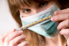 Epidemische Drohung Lizenzfreies Stockbild