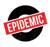 Epidemischer Stempel Lizenzfreies Stockfoto