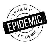 Epidemischer Stempel Stockfoto