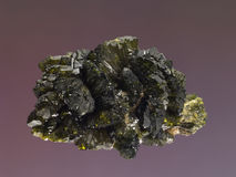 Epidote 3 Royalty Free Stock Photos