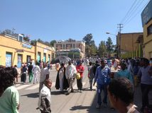 Epifanía de Gondar Foto de archivo