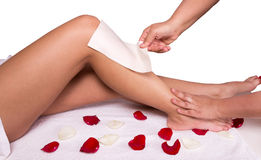 epilation fotografia de stock