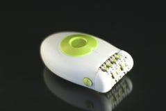 Epilator. White epilator isolated on a white background Royalty Free Stock Photo