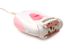 Epilator cor-de-rosa Fotos de Stock
