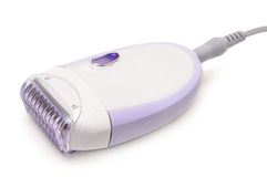 Epilator isolated on a white Royalty Free Stock Image